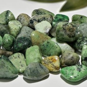 Shop Tumbled Garnet Crystals & Pocket Stones! Grossular Garnet – Grossularite Tumbled Gemstone | Natural genuine stones & crystals in various shapes & sizes. Buy raw cut, tumbled, or polished gemstones for making jewelry or crystal healing energy vibration raising reiki stones. #crystals #gemstones #crystalhealing #crystalsandgemstones #energyhealing #affiliate #ad