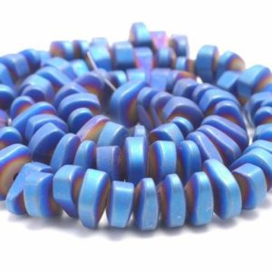 Shop Hematite Chip & Nugget Beads! 12X5MM Matte Blue Hematite Gemstone Nugget Loose Beads 15.5 inch Full Strand (80000255-A46) | Natural genuine chip Hematite beads for beading and jewelry making.  #jewelry #beads #beadedjewelry #diyjewelry #jewelrymaking #beadstore #beading #affiliate #ad