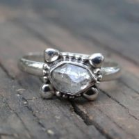 925 Sterling Silver Herkimer Diamond Ring Size 9, Herkimer Diamond Dainty Ring, Metaphysical Stone Ring, Silver Herkimer Jewelry Size 9 | Natural genuine Gemstone jewelry. Buy crystal jewelry, handmade handcrafted artisan jewelry for women.  Unique handmade gift ideas. #jewelry #beadedjewelry #beadedjewelry #gift #shopping #handmadejewelry #fashion #style #product #jewelry #affiliate #ad