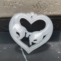 Antique White Jade Pendant Ancient China Culture Carving Holding Hand Heart | Natural genuine Gemstone jewelry. Buy crystal jewelry, handmade handcrafted artisan jewelry for women.  Unique handmade gift ideas. #jewelry #beadedjewelry #beadedjewelry #gift #shopping #handmadejewelry #fashion #style #product #jewelry #affiliate #ad