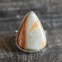 Polychrome Jasper Ring, 925 Silver Ring, jasper Ring, natural Polychrome Jasper Ring, polychrome Ring, drop Shape Ring, gemstone Ring | Natural genuine Gemstone jewelry. Buy crystal jewelry, handmade handcrafted artisan jewelry for women.  Unique handmade gift ideas. #jewelry #beadedjewelry #beadedjewelry #gift #shopping #handmadejewelry #fashion #style #product #jewelry #affiliate #ad