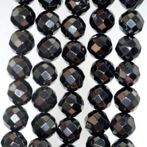 Shop Jet Beads! 10mm Black Jet Gemstone Faceted Nugget Round Loose Beads 16 inch Full Strand (90186933-826)   Natural genuine chip Jet beads for beading and jewelry making.  #jewelry #beads #beadedjewelry #diyjewelry #jewelrymaking #beadstore #beading #affiliate #ad