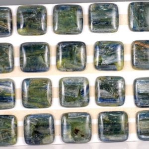 Shop Kyanite Cabochons! Free Usa Ship Super Kyanite 30mm Square Cabochon Cab 1 Piece (90183048-c1) | Natural genuine stones & crystals in various shapes & sizes. Buy raw cut, tumbled, or polished gemstones for making jewelry or crystal healing energy vibration raising reiki stones. #crystals #gemstones #crystalhealing #crystalsandgemstones #energyhealing #affiliate #ad