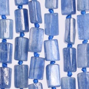 Shop Kyanite Faceted Beads! 30-35 Pcs – 6-9MM Kyanite Beads South Africa Grade AAA Genuine Natural Faceted Nugget Rectangle Tube Gemstone Beads (108361)   Natural genuine faceted Kyanite beads for beading and jewelry making.  #jewelry #beads #beadedjewelry #diyjewelry #jewelrymaking #beadstore #beading #affiliate #ad