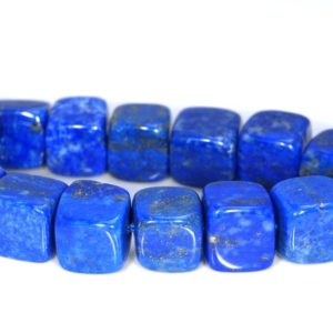 Shop Lapis Lazuli Bead Shapes! 6-7mm Natural Lapis Lazuli Gemstone Grade A Blue Cube Loose Beads 15 inch Full Strand (80004212-914)   Natural genuine other-shape Lapis Lazuli beads for beading and jewelry making.  #jewelry #beads #beadedjewelry #diyjewelry #jewelrymaking #beadstore #beading #affiliate #ad
