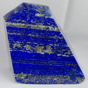 """Shop Lapis Lazuli Shapes! Lapis Lazuli Freeform  4.8"""" weighs 3.4 pounds   Natural genuine stones & crystals in various shapes & sizes. Buy raw cut, tumbled, or polished gemstones for making jewelry or crystal healing energy vibration raising reiki stones. #crystals #gemstones #crystalhealing #crystalsandgemstones #energyhealing #affiliate #ad"""