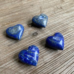 Shop Lapis Lazuli Shapes! Small lapis hearts WS7297A WS7297B WS7297C WS7297D   Natural genuine stones & crystals in various shapes & sizes. Buy raw cut, tumbled, or polished gemstones for making jewelry or crystal healing energy vibration raising reiki stones. #crystals #gemstones #crystalhealing #crystalsandgemstones #energyhealing #affiliate #ad