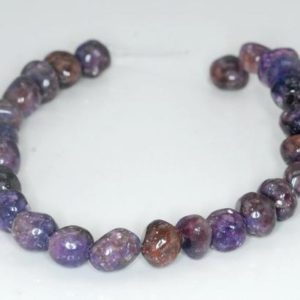 Shop Lepidolite Chip & Nugget Beads! 10X8-10X6mm Brown Purple Lepidolite Gemstone Grade A Nugget Loose Beads 8 inch Half Strand (90187945-672)   Natural genuine chip Lepidolite beads for beading and jewelry making.  #jewelry #beads #beadedjewelry #diyjewelry #jewelrymaking #beadstore #beading #affiliate #ad