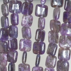 Shop Lepidolite Bead Shapes! 10X10mm Purple Lepidolite Gemstone Grade A Square Beads 15.5 inch Full Strand BULK LOT 1,2,6,12 and 50 (90188394-668) | Natural genuine other-shape Lepidolite beads for beading and jewelry making.  #jewelry #beads #beadedjewelry #diyjewelry #jewelrymaking #beadstore #beading #affiliate #ad