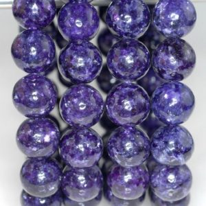 Shop Lepidolite Round Beads! 11-12MM Natural Lepidolite Gemstone Purple Grade AAA Purple Round Loose Beads 7.5 inch Half Strand LOT 1,2,6 and 12 (80000362-783) | Natural genuine round Lepidolite beads for beading and jewelry making.  #jewelry #beads #beadedjewelry #diyjewelry #jewelrymaking #beadstore #beading #affiliate #ad