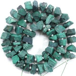 Shop Malachite Chip & Nugget Beads! 50 Pieces Genuine Quality Natural Malachite Gemstone, Uneven shape Rough,Size 6-8 MM Center Drilled Raw,Making Green Jewelry Wholesale Price | Natural genuine chip Malachite beads for beading and jewelry making.  #jewelry #beads #beadedjewelry #diyjewelry #jewelrymaking #beadstore #beading #affiliate #ad