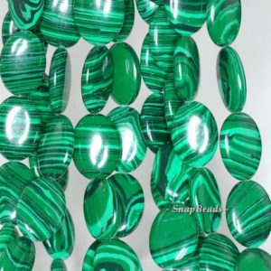 Shop Malachite Bead Shapes! Hedge Mazes Malachite Gemstone Green Oval 16x12mm Loose Beads 7.5 Inch Half Strand (90145140-218)   Natural genuine other-shape Malachite beads for beading and jewelry making.  #jewelry #beads #beadedjewelry #diyjewelry #jewelrymaking #beadstore #beading #affiliate #ad