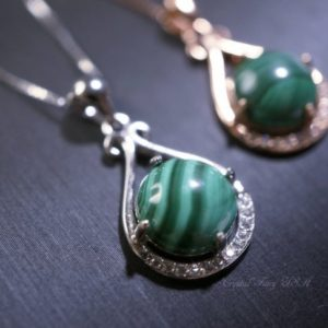 Shop Malachite Pendants! Natural Malachite Necklace, Rose Gold 925 Sterling Silver  High Quality Genuine Green Malachite Pendant | Natural genuine Malachite pendants. Buy crystal jewelry, handmade handcrafted artisan jewelry for women.  Unique handmade gift ideas. #jewelry #beadedpendants #beadedjewelry #gift #shopping #handmadejewelry #fashion #style #product #pendants #affiliate #ad