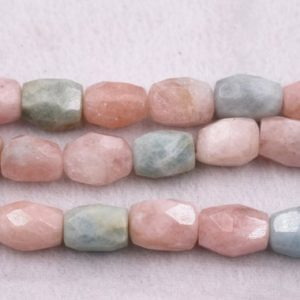 Shop Morganite Faceted Beads! Natural Morganite oval section Beads,Natural Faceted Beads Wholesale Bulk Supply,13*16mm | Natural genuine faceted Morganite beads for beading and jewelry making.  #jewelry #beads #beadedjewelry #diyjewelry #jewelrymaking #beadstore #beading #affiliate #ad