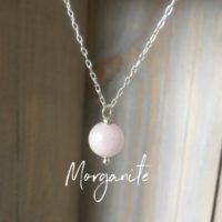 Morganite Gemstone Necklace~healing Gemstone Pendant~ Pink Gemstone Layering Necklace~dainty Necklace~ Silver And Gemstone Necklace | Natural genuine Gemstone jewelry. Buy crystal jewelry, handmade handcrafted artisan jewelry for women.  Unique handmade gift ideas. #jewelry #beadedjewelry #beadedjewelry #gift #shopping #handmadejewelry #fashion #style #product #jewelry #affiliate #ad