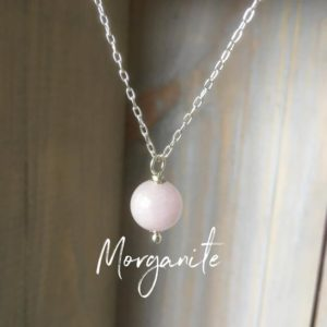 Shop Morganite Necklaces! Morganite gemstone necklace~healing gemstone pendant~ pink gemstone layering necklace~dainty necklace~ silver and gemstone necklace   Natural genuine Morganite necklaces. Buy crystal jewelry, handmade handcrafted artisan jewelry for women.  Unique handmade gift ideas. #jewelry #beadednecklaces #beadedjewelry #gift #shopping #handmadejewelry #fashion #style #product #necklaces #affiliate #ad