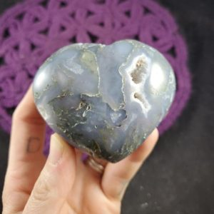 Shop Moss Agate Shapes! Large Moss Agate Heart Crystal Polished Stones Green Blue Crystals Natural Unique Heart Shaped Carving | Natural genuine stones & crystals in various shapes & sizes. Buy raw cut, tumbled, or polished gemstones for making jewelry or crystal healing energy vibration raising reiki stones. #crystals #gemstones #crystalhealing #crystalsandgemstones #energyhealing #affiliate #ad