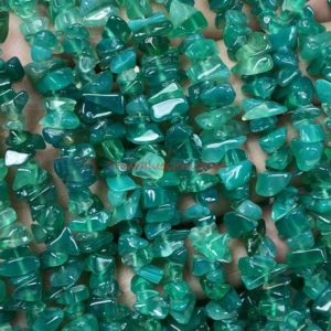Shop Onyx Chip & Nugget Beads! Natural Green Onyx Beads, Green Onyx Uncut Beads, Green Onyx Chips, Green Onyx Raw Gemstone Beads, 4-7 Mm Green Onyx Uncut Drilled Bead 5010 | Natural genuine chip Onyx beads for beading and jewelry making.  #jewelry #beads #beadedjewelry #diyjewelry #jewelrymaking #beadstore #beading #affiliate #ad