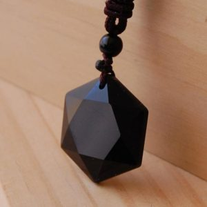 Shop Obsidian Jewelry! Obsidian Necklace, The Protection Stone, Obsidian Pendant, Real Obsidian, Protective Amulet, protective Talisman, negative Energy Removal,   Natural genuine Obsidian jewelry. Buy crystal jewelry, handmade handcrafted artisan jewelry for women.  Unique handmade gift ideas. #jewelry #beadedjewelry #beadedjewelry #gift #shopping #handmadejewelry #fashion #style #product #jewelry #affiliate #ad