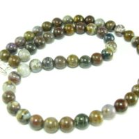 Pietersite Necklace Beads From Africa – 19"