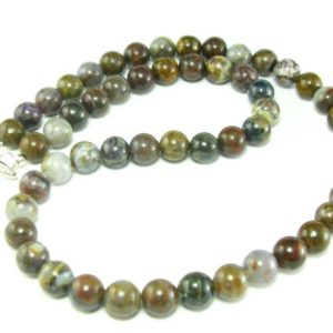 """Pietersite Necklace Beads from Africa  – 19"""" 
