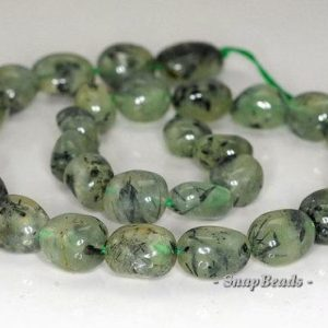 Shop Prehnite Chip & Nugget Beads! Free Usa Ship 13×10-19x17mm Prehnite Gemstone Nugget Loose Beads 7 Inch Half Strand Lot 1, 2, 6, 12 And 50 (90191101-b35-566) | Natural genuine chip Prehnite beads for beading and jewelry making.  #jewelry #beads #beadedjewelry #diyjewelry #jewelrymaking #beadstore #beading #affiliate #ad