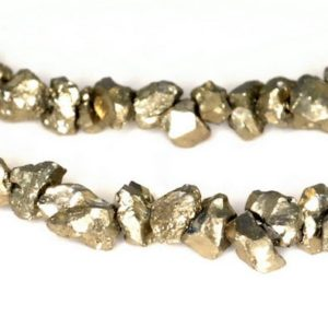 Shop Pyrite Chip & Nugget Beads! 4MM-5MM Iron Pyrite Gemstone, Rough Edge Granule Pebble Chips Loose Beads 8 inch Half Strand (90189084 H-353) | Natural genuine chip Pyrite beads for beading and jewelry making.  #jewelry #beads #beadedjewelry #diyjewelry #jewelrymaking #beadstore #beading #affiliate #ad