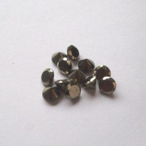 6mm Golden Pyrite Faceted Round Diamond Cut Aaa Quality Gemstone….. Golden Pyrite Round Faceted Loose Gemstone | Natural genuine stones & crystals in various shapes & sizes. Buy raw cut, tumbled, or polished gemstones for making jewelry or crystal healing energy vibration raising reiki stones. #crystals #gemstones #crystalhealing #crystalsandgemstones #energyhealing #affiliate #ad
