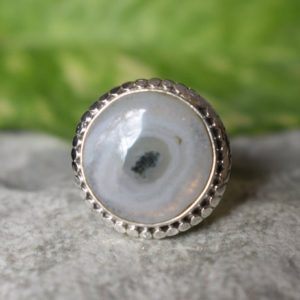 Shop Quartz Crystal Rings! 925 silver natural solar quartz ring-solar quartz ring-natural quartz ring-solar quartz ring-quartz ring-natural gemstone ring   Natural genuine Quartz rings, simple unique handcrafted gemstone rings. #rings #jewelry #shopping #gift #handmade #fashion #style #affiliate #ad