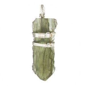 Shop Moldavite Necklaces! Raw Moldavite Pendant – Raw Moldavite Necklace – healing crystals and stones – Sterling silver – natural raw moldavite crystal – #52 | Natural genuine Moldavite necklaces. Buy crystal jewelry, handmade handcrafted artisan jewelry for women.  Unique handmade gift ideas. #jewelry #beadednecklaces #beadedjewelry #gift #shopping #handmadejewelry #fashion #style #product #necklaces #affiliate #ad