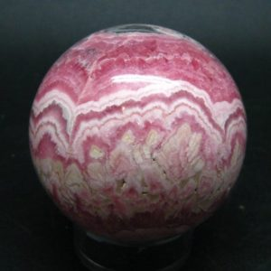 """Shop Rhodochrosite Shapes! Rhodochrosite Sphere Ball from Argentina – 2.1"""" – 269 Grams   Natural genuine stones & crystals in various shapes & sizes. Buy raw cut, tumbled, or polished gemstones for making jewelry or crystal healing energy vibration raising reiki stones. #crystals #gemstones #crystalhealing #crystalsandgemstones #energyhealing #affiliate #ad"""