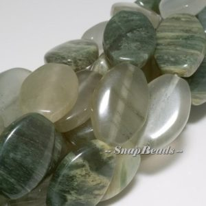 Shop Rutilated Quartz Bead Shapes! Mojito Green Rutile Quartz Gemstone Oval Marquise 18x12mm Loose Beads 16inch Full Strand (10233685-63)   Natural genuine other-shape Rutilated Quartz beads for beading and jewelry making.  #jewelry #beads #beadedjewelry #diyjewelry #jewelrymaking #beadstore #beading #affiliate #ad