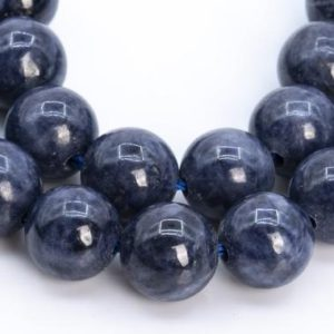 Shop Sapphire Round Beads! 59 / 29  Pcs – 6-7MM Dark Blue Sapphire Beads Myanmar Grade AAA Genuine Natural Round Gemstone Loose Beads (113263) | Natural genuine round Sapphire beads for beading and jewelry making.  #jewelry #beads #beadedjewelry #diyjewelry #jewelrymaking #beadstore #beading #affiliate #ad
