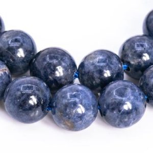 Shop Sapphire Round Beads! 61 / 30 Pcs – 6-7MM Sapphire Beads Myanmar Grade AA Genuine Natural Round Gemstone Loose Beads (113453) | Natural genuine round Sapphire beads for beading and jewelry making.  #jewelry #beads #beadedjewelry #diyjewelry #jewelrymaking #beadstore #beading #affiliate #ad