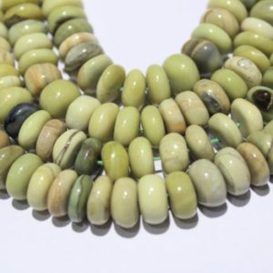 """Shop Serpentine Rondelle Beads! Natural Serpentine Smooth Plain Rondelle Beads,Natural Serpentine Beads,Natural Serpentine Gemstone Beads,Size 9mm to 9.5mm 16"""" Inch Strand   Natural genuine rondelle Serpentine beads for beading and jewelry making.  #jewelry #beads #beadedjewelry #diyjewelry #jewelrymaking #beadstore #beading #affiliate #ad"""