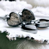 Smoky Quartz Necklace, Heart Necklace | Natural genuine Gemstone jewelry. Buy crystal jewelry, handmade handcrafted artisan jewelry for women.  Unique handmade gift ideas. #jewelry #beadedjewelry #beadedjewelry #gift #shopping #handmadejewelry #fashion #style #product #jewelry #affiliate #ad