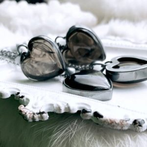Smoky quartz necklace, heart necklace | Natural genuine Smoky Quartz necklaces. Buy crystal jewelry, handmade handcrafted artisan jewelry for women.  Unique handmade gift ideas. #jewelry #beadednecklaces #beadedjewelry #gift #shopping #handmadejewelry #fashion #style #product #necklaces #affiliate #ad