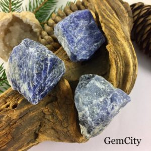 Sodalite Crystals (3) – Healing Crystals and Stones Sodalite Raw Crystal Crystals & Minerals Chakra Stones Sodalite Stone Sodalite Stones | Natural genuine stones & crystals in various shapes & sizes. Buy raw cut, tumbled, or polished gemstones for making jewelry or crystal healing energy vibration raising reiki stones. #crystals #gemstones #crystalhealing #crystalsandgemstones #energyhealing #affiliate #ad