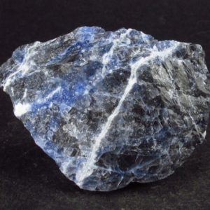 """Shop Raw & Rough Sodalite Stones! Large Sodalite Raw Piece From Canada – 1.9"""" 