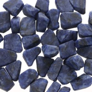 Shop Raw & Rough Sodalite Stones! Raw Sodalite Pieces, Rough Sodalite, Sodalite Crystal, LSodalite001 | Natural genuine stones & crystals in various shapes & sizes. Buy raw cut, tumbled, or polished gemstones for making jewelry or crystal healing energy vibration raising reiki stones. #crystals #gemstones #crystalhealing #crystalsandgemstones #energyhealing #affiliate #ad