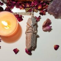 Sand Topaz Necklace – Rare Crystals – Grounding | Natural genuine Gemstone jewelry. Buy crystal jewelry, handmade handcrafted artisan jewelry for women.  Unique handmade gift ideas. #jewelry #beadedjewelry #beadedjewelry #gift #shopping #handmadejewelry #fashion #style #product #jewelry #affiliate #ad