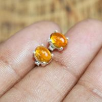 Yellow Tourmaline 925 Sterling Silver Stud Earring   Natural genuine Gemstone jewelry. Buy crystal jewelry, handmade handcrafted artisan jewelry for women.  Unique handmade gift ideas. #jewelry #beadedjewelry #beadedjewelry #gift #shopping #handmadejewelry #fashion #style #product #jewelry #affiliate #ad