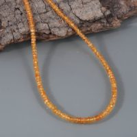 Natural Yellow Sapphire Necklace Birthstone Jewelry Sapphire Jewelry Gemstone Necklace Gift For Girlfriend Gift For Her Genuine Sapphire | Natural genuine Gemstone jewelry. Buy crystal jewelry, handmade handcrafted artisan jewelry for women.  Unique handmade gift ideas. #jewelry #beadedjewelry #beadedjewelry #gift #shopping #handmadejewelry #fashion #style #product #jewelry #affiliate #ad