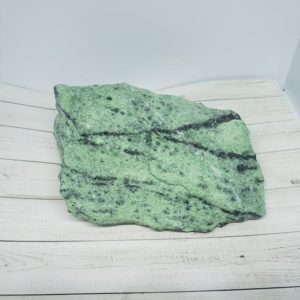 Shop Raw & Rough Ruby Zoisite Stones! 1.5 LB (Pounds) Large Rough Raw Chunk Ruby Zoisite from Zambia, Green Stone Rock | Natural genuine stones & crystals in various shapes & sizes. Buy raw cut, tumbled, or polished gemstones for making jewelry or crystal healing energy vibration raising reiki stones. #crystals #gemstones #crystalhealing #crystalsandgemstones #energyhealing #affiliate #ad