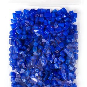 100g Semi-Precious Loose Chips in Sapphire Blue (SP070) | Natural genuine stones & crystals in various shapes & sizes. Buy raw cut, tumbled, or polished gemstones for making jewelry or crystal healing energy vibration raising reiki stones. #crystals #gemstones #crystalhealing #crystalsandgemstones #energyhealing #affiliate #ad