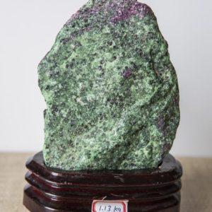 Shop Raw & Rough Ruby Zoisite Stones! 1130g. Raw Ruby Zoisite, Ruby Zoisite With Black Crystals Inclusions, Ruby Zoisite Crystal, Ruby Zoisite Mineral, Natural Rough Gemstone | Natural genuine stones & crystals in various shapes & sizes. Buy raw cut, tumbled, or polished gemstones for making jewelry or crystal healing energy vibration raising reiki stones. #crystals #gemstones #crystalhealing #crystalsandgemstones #energyhealing #affiliate #ad