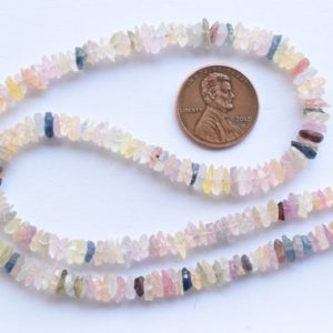 Shop Sapphire Chip & Nugget Beads! 16 Inches Multi Sapphire Rough Chips Shape Natural Gemstone Raw Center Drill Beads Line | Wholesale Sapphire Beads | Precious Gemstone Beads | Natural genuine chip Sapphire beads for beading and jewelry making.  #jewelry #beads #beadedjewelry #diyjewelry #jewelrymaking #beadstore #beading #affiliate #ad