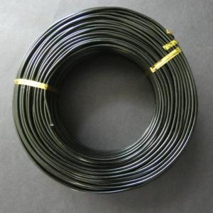 Shop Wire! 55 Meters Of 2mm Black Aluminum Jewelry Wire, 2mm Diameter, 500 Grams Of Beading Wire, Black Metal Wire For Jewelry Making & Wire Wrapping | Shop jewelry making and beading supplies, tools & findings for DIY jewelry making and crafts. #jewelrymaking #diyjewelry #jewelrycrafts #jewelrysupplies #beading #affiliate #ad