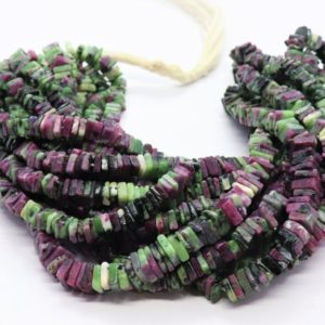 Shop Ruby Zoisite Bead Shapes! AAA Ruby Zoisite heishi square beads,  5.5-6 mm Ruby Zoisite beads,  16 inch Ruby Zosite square beads,  Natural Ruby Zoisite hieshi beads   Natural genuine other-shape Ruby Zoisite beads for beading and jewelry making.  #jewelry #beads #beadedjewelry #diyjewelry #jewelrymaking #beadstore #beading #affiliate #ad