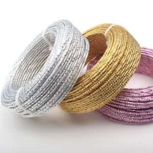 Shop Wire! Aluminum Gold Jewelry Wire, Round Wire, 12ga Wire, 2 mm Round Wire, Wire Wrapping, Jewelry Making Wire, Plated Wire, Jewelry Supplies | Shop jewelry making and beading supplies, tools & findings for DIY jewelry making and crafts. #jewelrymaking #diyjewelry #jewelrycrafts #jewelrysupplies #beading #affiliate #ad
